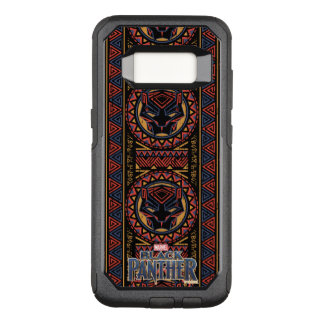 Black Panther   Panther Head Tribal Pattern OtterBox Commuter Samsung Galaxy S8 Case