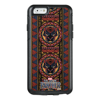 Black Panther | Panther Head Tribal Pattern OtterBox iPhone 6/6s Case