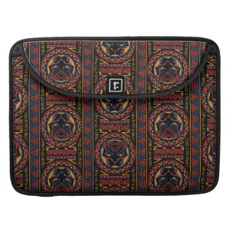 Black Panther | Panther Head Tribal Pattern Sleeve For MacBook Pro