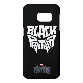 Black Panther   Panther Head Typography Graphic