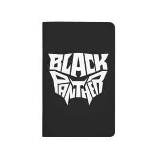 Black Panther | Panther Head Typography Graphic Journal