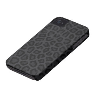 Black Panther Print iPhone 4 Case-Mate Cases