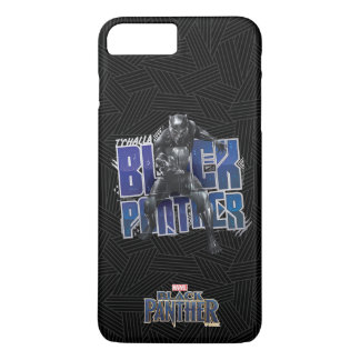 Black Panther | T'Challa - Black Panther Graphic iPhone 8 Plus/7 Plus Case