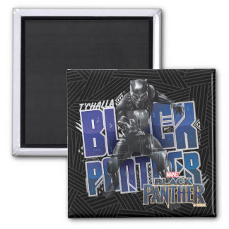 Black Panther | T'Challa - Black Panther Graphic Magnet
