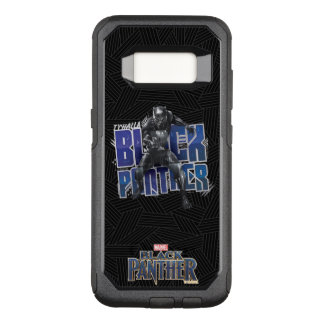 Black Panther   T'Challa - Black Panther Graphic OtterBox Commuter Samsung Galaxy S8 Case