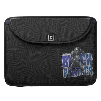 Black Panther | T'Challa - Black Panther Graphic Sleeve For MacBooks