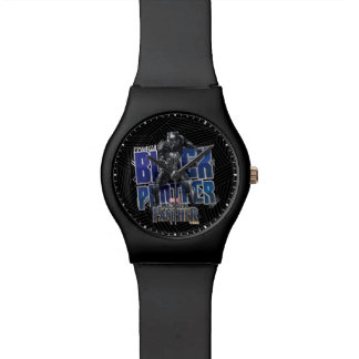 Black Panther | T'Challa - Black Panther Graphic Watch