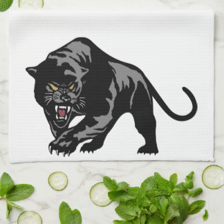 Black Panther Tea Towel