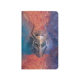 Black Panther | Tribal Mask Overlaid Art Journal