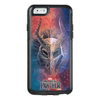 Black Panther | Tribal Mask Overlaid Art OtterBox iPhone 6/6s Case