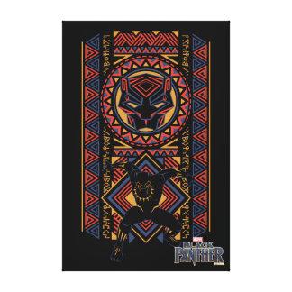 Black Panther | Wakandan Black Panther Panel Canvas Print