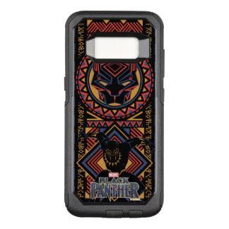 Black Panther   Wakandan Black Panther Panel OtterBox Commuter Samsung Galaxy S8 Case