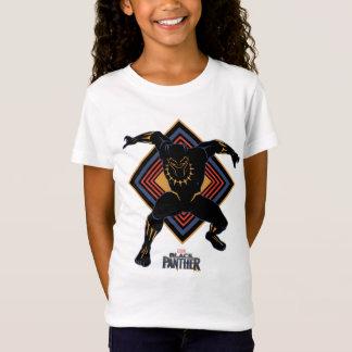 Black Panther | Wakandan Black Panther Panel T-Shirt