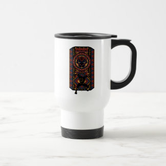 Black Panther   Wakandan Black Panther Panel Travel Mug