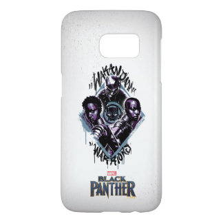 Black Panther   Wakandan Warriors Graffiti
