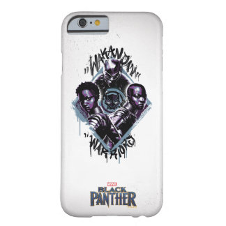 Black Panther | Wakandan Warriors Graffiti Barely There iPhone 6 Case