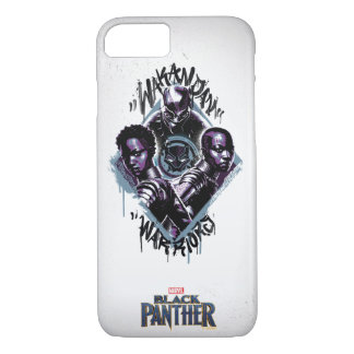 Black Panther | Wakandan Warriors Graffiti iPhone 8/7 Case