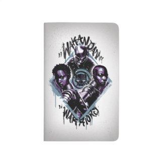 Black Panther | Wakandan Warriors Graffiti Journal