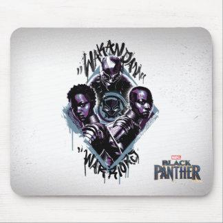 Black Panther | Wakandan Warriors Graffiti Mouse Mat