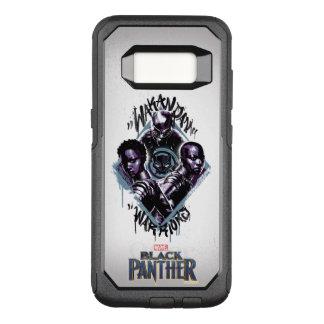 Black Panther | Wakandan Warriors Graffiti OtterBox Commuter Samsung Galaxy S8 Case