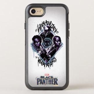 Black Panther | Wakandan Warriors Graffiti OtterBox Symmetry iPhone 8/7 Case
