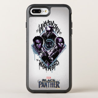Black Panther | Wakandan Warriors Graffiti OtterBox Symmetry iPhone 8 Plus/7 Plus Case