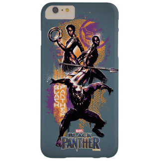 Black Panther | Wakandan Warriors Painted Graphic Barely There iPhone 6 Plus Case