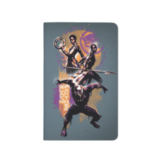 Black Panther | Wakandan Warriors Painted Graphic Journal