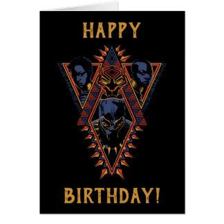 Black Panther | Wakandan Warriors Tribal Panel Card