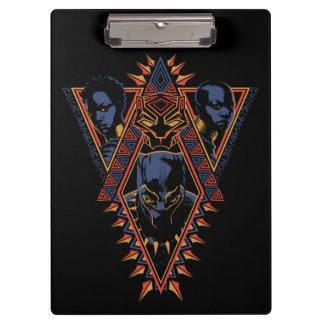 Black Panther | Wakandan Warriors Tribal Panel Clipboard
