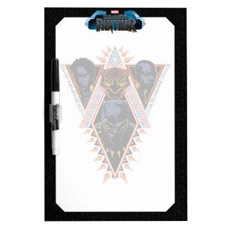 Black Panther | Wakandan Warriors Tribal Panel Dry Erase Board