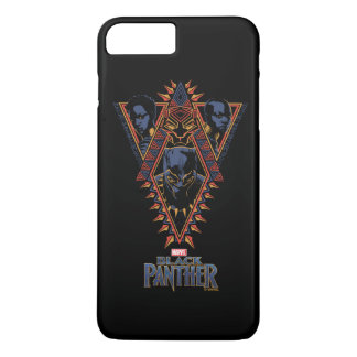 Black Panther | Wakandan Warriors Tribal Panel iPhone 8 Plus/7 Plus Case