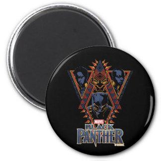 Black Panther | Wakandan Warriors Tribal Panel Magnet