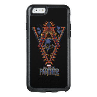 Black Panther | Wakandan Warriors Tribal Panel OtterBox iPhone 6/6s Case