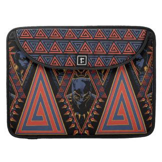 Black Panther | Wakandan Warriors Tribal Panel Sleeve For MacBook Pro