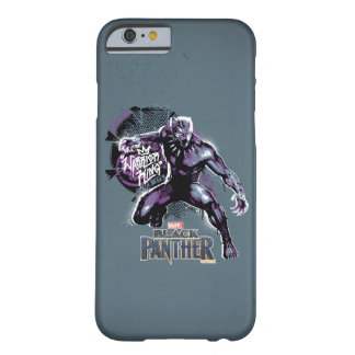Black Panther | Warrior King Painted Graphic Barely There iPhone 6 Case