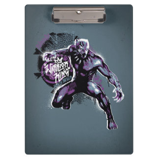 Black Panther | Warrior King Painted Graphic Clipboard