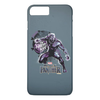 Black Panther | Warrior King Painted Graphic iPhone 8 Plus/7 Plus Case