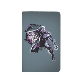 Black Panther | Warrior King Painted Graphic Journal