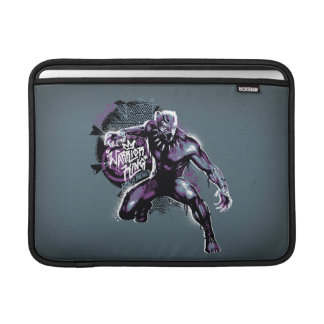 Black Panther | Warrior King Painted Graphic Sleeve For MacBook Air
