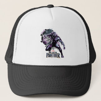Black Panther | Warrior King Painted Graphic Trucker Hat