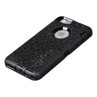 Black Panther with Name OtterBox iPhone 6/6s Case