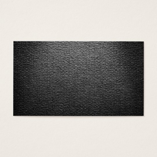 Black Paper Texture For Background Business Card