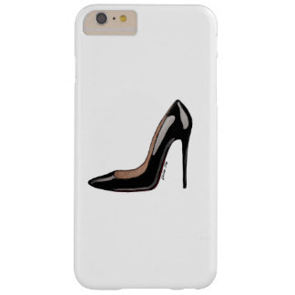 Black patent stiletto IPhone case Barely There iPhone 6 Plus Case