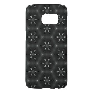 Black pattern Android case