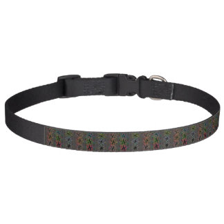 black pattern dog collar - Pieces 5B