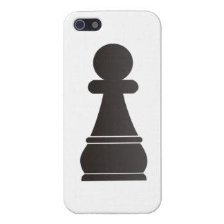 Black Pawn chess piece iPhone 5/5S Case