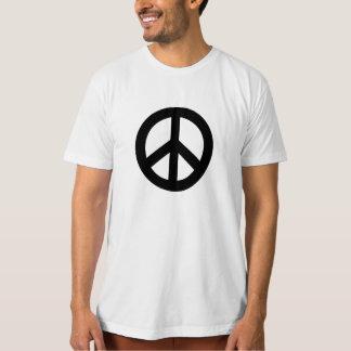 Black Peace Sign T-shirt