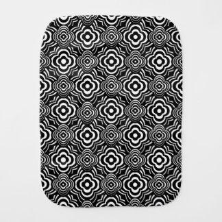 Black Peddler Burp Cloth