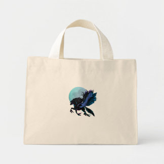 Black Pegasus and Blue Moon Bag